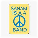 Sanam Is A 4 Peace Band - Fridge Magnet [Pre-order - Ships 24th January 2018]