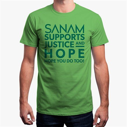 Sanam Supports Justice And Hope [Pre-order - Ships 29th January 2018]