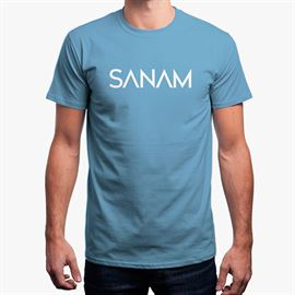 Sanam: Logo - Light Blue [Pre-order - Ships 29th January 2018]