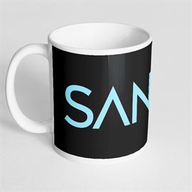 Sanam: Logo - Coffee Mug [Pre-order - Ships 24th January 2018]