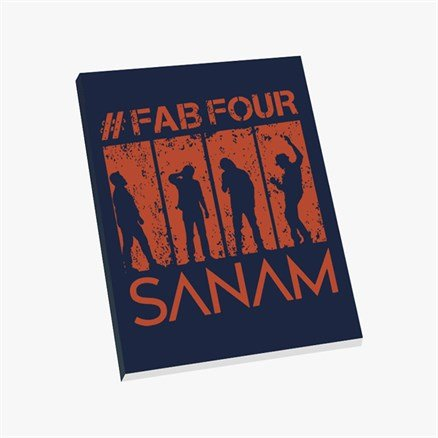 Sanam: #FabFour Silhouette - Notebook [Pre-order - Ships 24th January 2018]