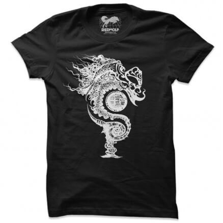 Serpents Of Pakhangba Logo T-shirt (Black)