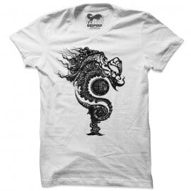 Serpents Of Pakhangba Logo T-shirt (White)
