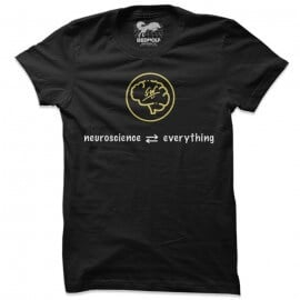 Neuroscience (Black) - T-shirt