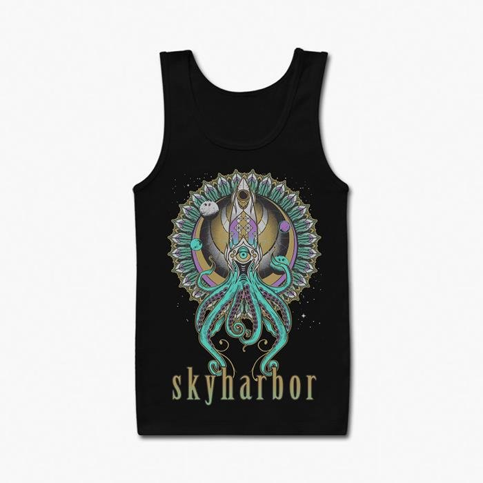 Skyharbor: Sensei Squid Tank Top