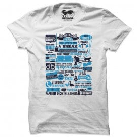 One With The Quotes (White) - T-shirt