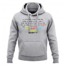 Seven Seven (Heather Grey) - Hoodie