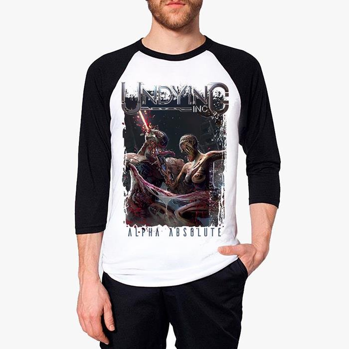 Undying Inc - Alpha Absolute Baseball T-shirt
