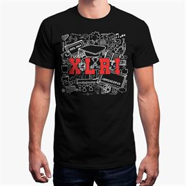 XLRI 2017 T-shirt - Black [Pre-order - Ships 14th November]
