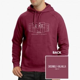 XLRI 2017 Sweatshirt - Maroon [Pre-order - Ships 14th November]