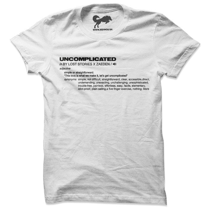 Official Uncomplicated T-shirt [Pre-order - Ships 7th January 2019]