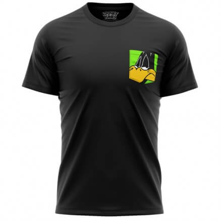 Daffy Face (Pocket T-shirt) - Looney Tunes Official T-shirt