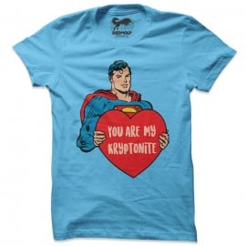 You Are My Kryptonite - Superman Official T-shirt