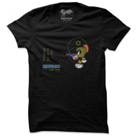 Arcade Marvin - Looney Tunes Official T-shirt