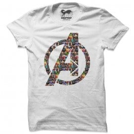 Avengers Emblem - Marvel Official T-shirt