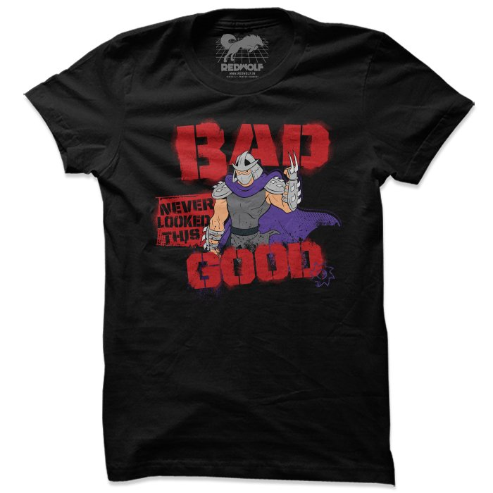 Bad Never Looked This Good - TMNT Official T-shirt