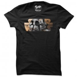 BB8: Star Wars Logo - Star Wars Official T-shirt