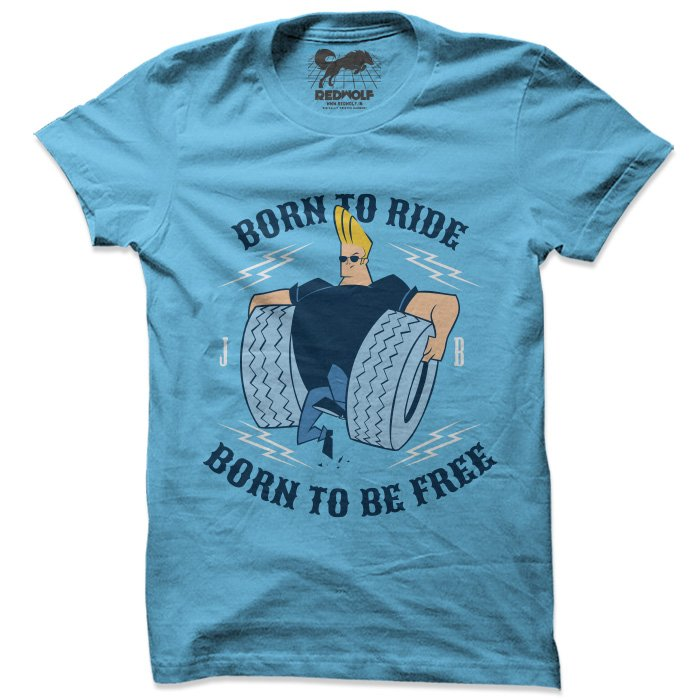 Born To Ride - Johnny Bravo Official T-shirt