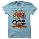Call 1-800-Justice - Justice League Official T-shirt