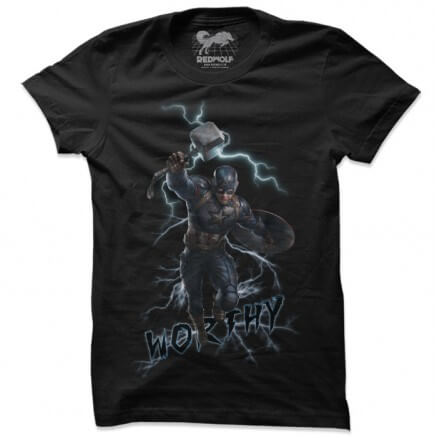 I Am Worthy - Marvel Official T-shirt