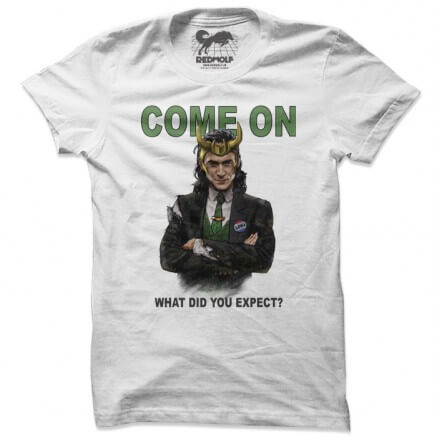 Loki: Come On - Marvel Official T-shirt