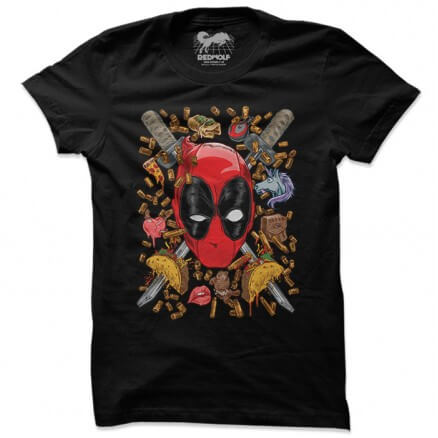 Deadpool Degenerate - Marvel Official T-shirt