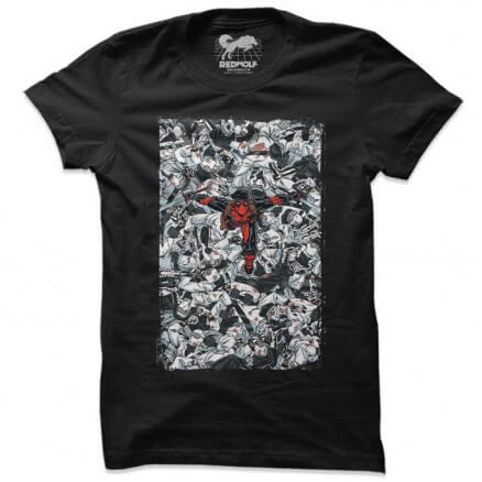 Deadpool: Killer With Style - Marvel Official T-shirt