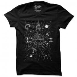 Death Star Fall - Star Wars Official T-shirt