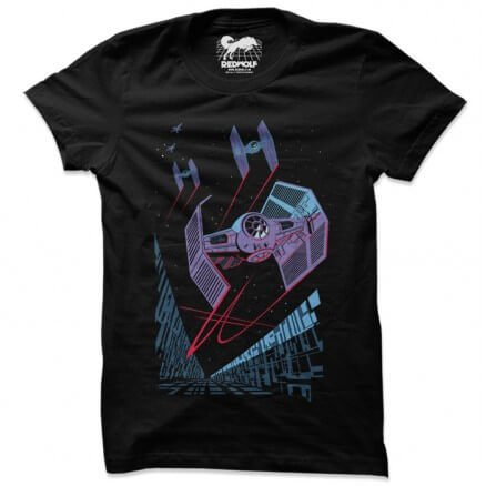 Death Star Trench - Star Wars Official T-shirt