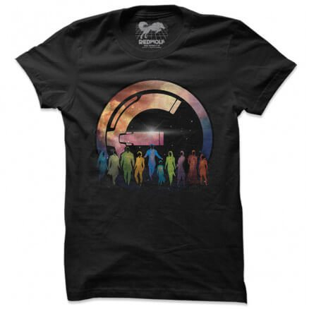 Eternals: Galactic Silhouette - Marvel Official T-shirt