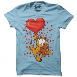 High On Love - Garfield Official T-shirt