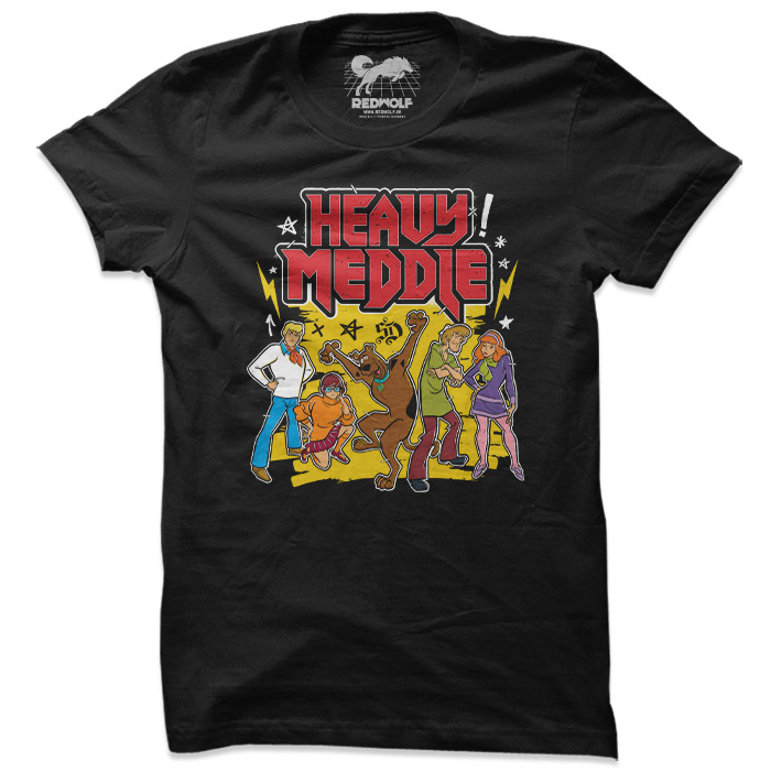 Heavy Meddle - Scooby Doo Official T-shirt