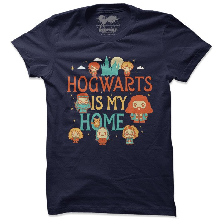 Hogwarts Is My Home - Harry Potter Official T-shirt