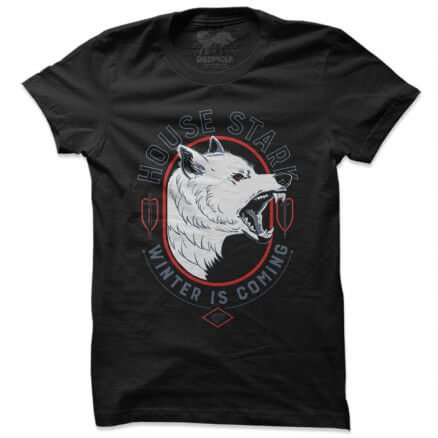 House Stark Sigil - Game Of Thrones Official T-shirt