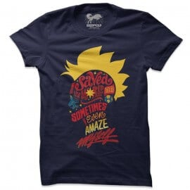 I Saved The World Today - Marvel Official T-shirt