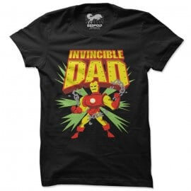 Invincible Dad - Marvel Official T-shirt