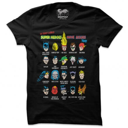 Justice League: Issues - Justice League Official T-shirt