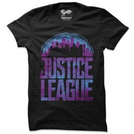 Justice League Logo - Justice League Official T-shirt