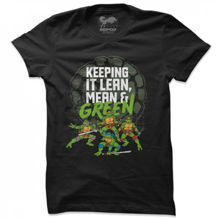 Lean, Mean And Green - TMNT Official T-shirt