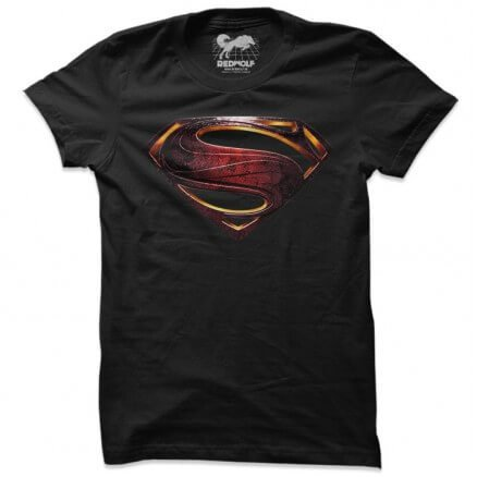 Man Of Steel Logo - Superman Official T-shirt