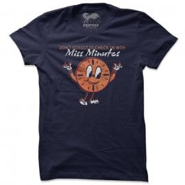 Miss Minutes  - Marvel Official T-shirt