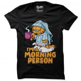 Morning Person - Garfield Official T-shirt