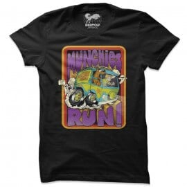 Munchies Run - Scooby Doo Official T-shirt