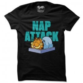 Nap Attack - Garfield Official T-shirt