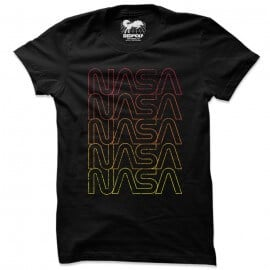 NASA: Rainbow Logo - NASA Official T-shirt