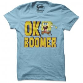 OK Boomer - SpongeBob SquarePants Official T-shirt