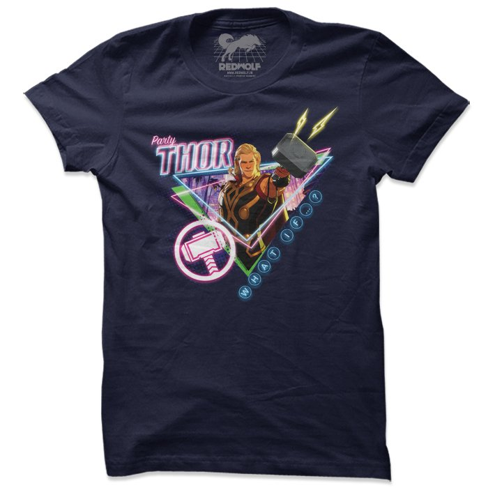 Party Thor - Marvel Official T-shirt