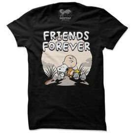 Peanuts: Friends Forever - Peanuts Official T-shirt