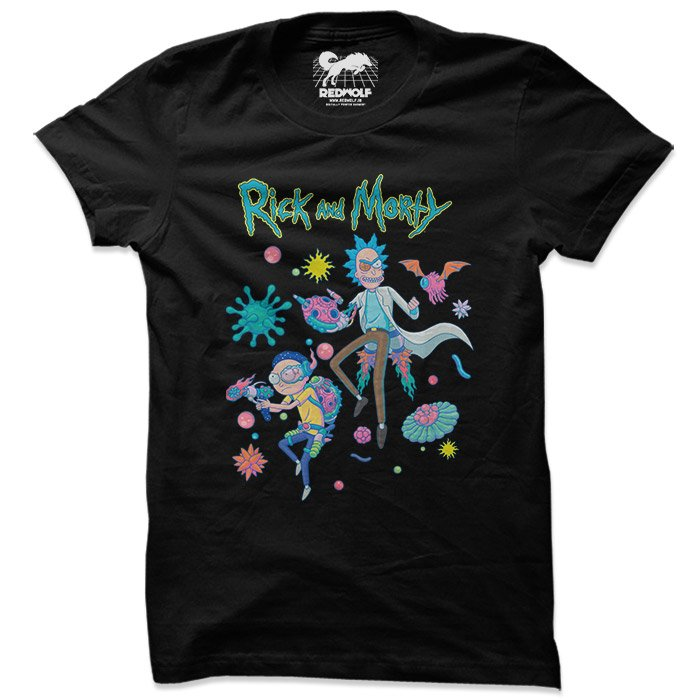 Portal Jump - Rick And Morty Official T-shirt