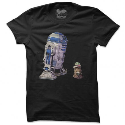 R2-D2 And Grogu - Star Wars Official T-shirt